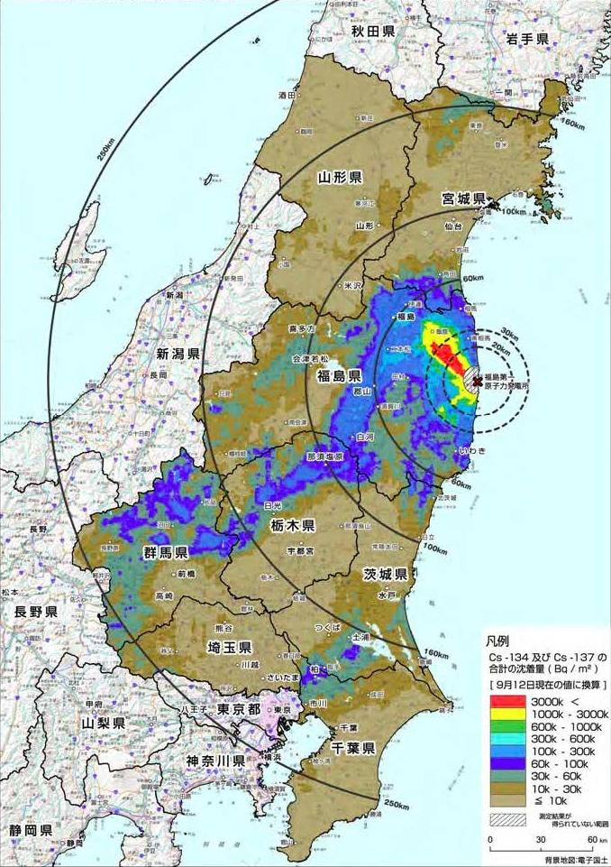 Japan Karte Physisch.Japan Strahlung Karte Filmgroephetaccent