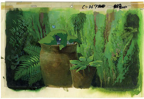 Totoro-Hintergrundbild C367